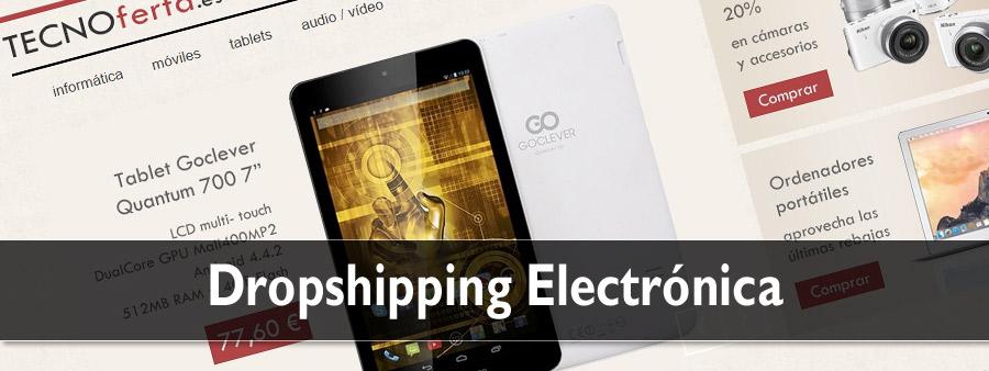 dropshipping de electrónica