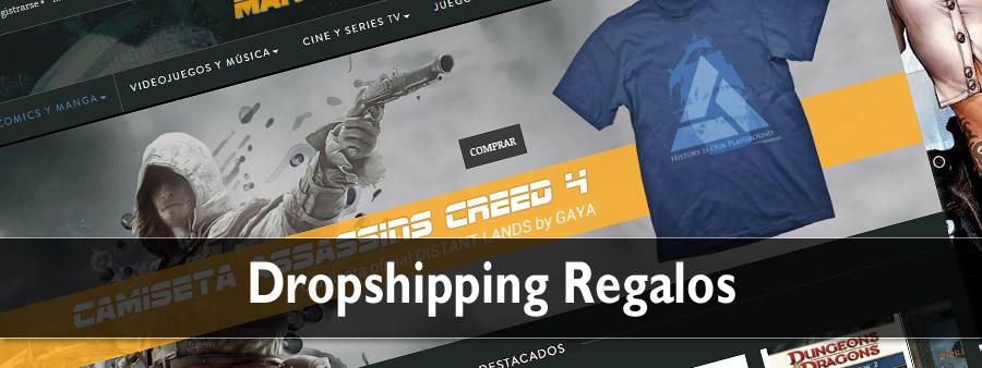 dropshipping de regalos y merchandising