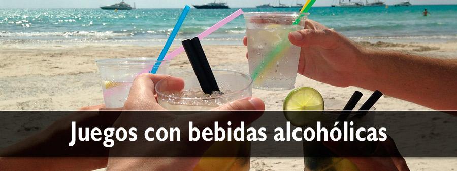 Juegos con bebidas alcohólicas