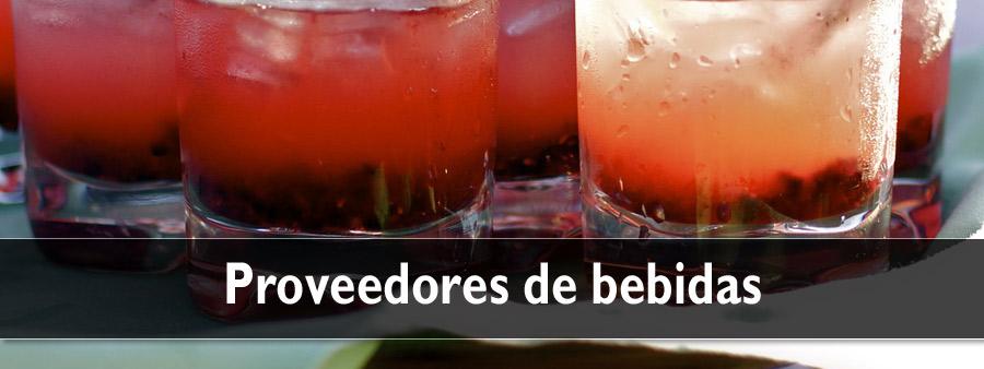 Proveedores de bebidas