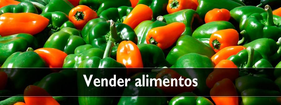 Vender alimentos en internet