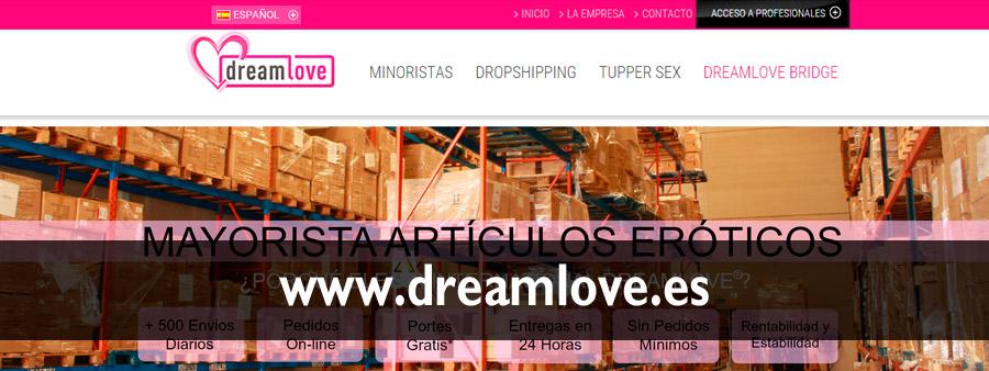 Proveedores de Sex Shop www.dreamlove.es