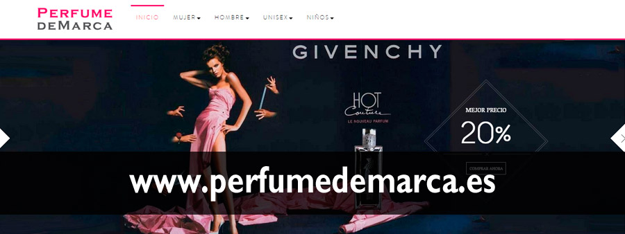 Distribuidores de perfumes