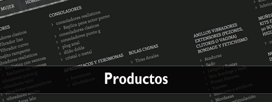 Productos eróticos