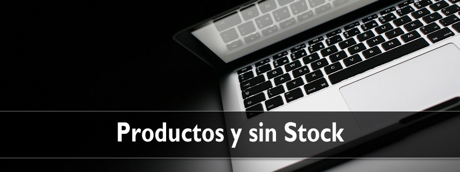 Productos sin stock