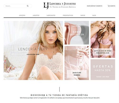 Lenceria y Juguetes - tienda dropshipping